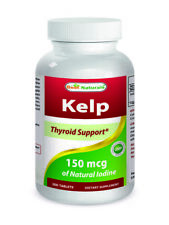 Best Naturals Kelp 150 mcg 300 Tablets *Healthy Thyroid Function*