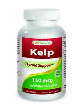 Best Naturals Kelp 150 mcg 300 Tablets *Healthy Thyroid Function*