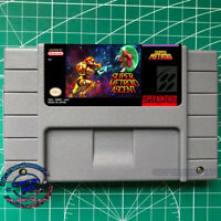 SUPER METROID ASCENT SNES VIDEO GAME