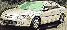 Chrysler SEBRING JR  ab 2001 Windschutzscheibe grün Frontscheibe pare-brise