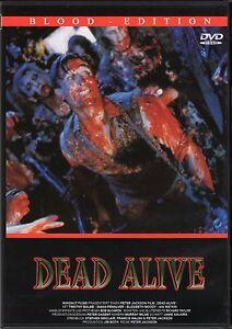 Braindead , Dead Alive , Blood Edition , 100% uncut , region free ,Peter Jackson