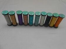 10 Kreinik Blending Filament Assorted Colours