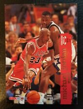 Michael Air Jordan MINT 1995 1996 NBA Hoops #21 Shaq O'Neal Chicago Bulls MJ