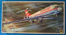 Vintage(1970s) Veb Plasticart IL-62 1/100 scale Flugzeug kit