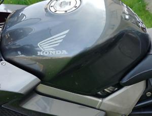 HONDA WINGS 2x Motorcycle Bike Tank Fairing Decals / Sticker