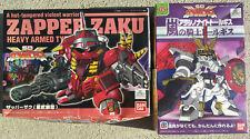 2x Bandai Gundam Superior Defender SD Force Figures: Tallgeese, Zapper Zaku