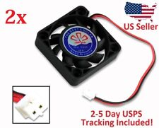 2x 12V Cooling Computer Fan Small 40mm x 10mm DC Brushless 2-pin RepRap