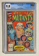 NEW MUTANTS #87 Marvel Comics 1990 CGC 9.8 Cable & Stryfe 1st Appearance