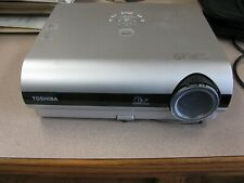 Toshiba TDP-S20 LCD Home Theater Projector Multimedia