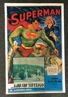 Kirk Alyn PSA DNA Coa Hand Signed 27x41 Poster Superman Autograph