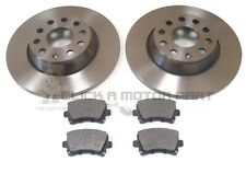 New VW Passat 362 2.0 TDI Genuine Mintex Front Coated Brake Discs Pair x2