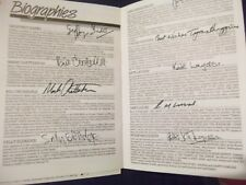 TO KILL A MOCKINGBIRD CAST x14 hand signed theatre programme