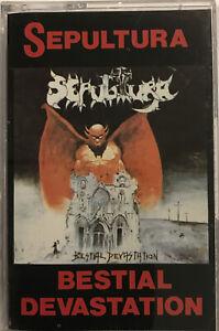 Overdose / Sepultura – Século X.X. / Bestial Devastation Cassette U.S. Metal *BR