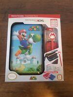 Nintendo 3DS Super Mario Game Traveler Essentials Pack ~ New in Box