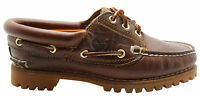 Timberland Womens Heritage Noreen 3 Eye Handsewn Boat Shoes Leather 51304 T3