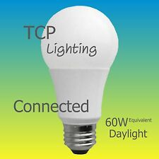 4 TCP Connected 60W Equivalent Daylight (5000K) A19 Smart LED Light Bulb