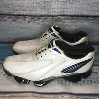 Footjoy XPS-1 Men's Golf Shoes Size 10.5 M - 56016 White/Black/Blue $250