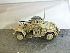 IXO Die-cast Model 1:72 Scale Sd.Kfz.222 10.Pz.Div. Tunis (Tunisia) - 1943