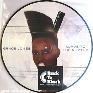 GRACE JONES LP Slave To The Rhythm PICTURE DISC 2013 Limited 1000 Made UNPLAYED