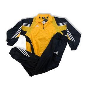 Adidas Trainingsanzug MUND PES Suit Gr. 8 L 2003 vintage NEU Track pants gelb