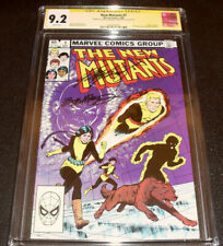 The New Mutants #1 CGC 9.2  !! CHRIS CLAREMONT AND BOB MCLEOD SIGNED !!