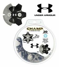 NEW Champ Zarma Tour with Under Armour Directional Golf Shoe Spikes 20-Pack