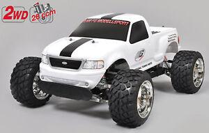 FG Modellsport # 6010C Stadium Truck 2WD 26 ccm lackierte Karosserie NON RTR
