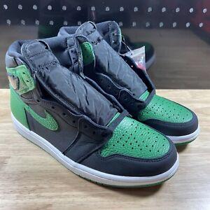 New Authentic Nike Air Jordan Retro 1 High Size 8.5 Pine Green 2.0 555088-030