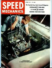 Speed Mechanics Magazine October 1955 Ford Mercury EX No ML 052117nonjhe