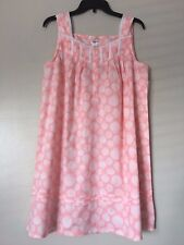 Croft&Barrow Womens Sleeveless Button Front Cotton Intimates Choice Size S/M NWT