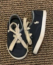 Ralph Lauren Polo Boys Shoes Size 6 Baby Infant Toddler Blue