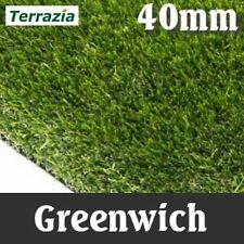 Artificial Grass Instant Lawn Realistic Fake Turf quality sample 'Greenwich'