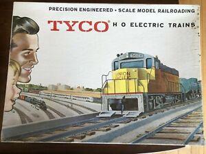 VINTAGE 1964 TYCO HO SANTA FE FREIGHT TRAIN SET NO. T6455 in original boxesEXC!