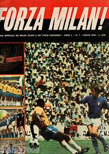 FORZA MILAN!=N°7 1970=GIANNI RIVERA=MONDIALI MEXICO 70=BRASILE=STORIA MONDIALI