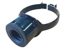 "Black Soil Pipe 110mm 32mm 36mm Boss Clip Strap Boss 1 1/4"" Pushfit Adaptor"