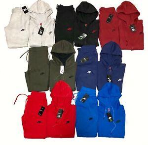 Nike Suit Full Set Brand New Men's Full Zip Hoodie + Joggers Free Shipping