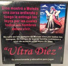 Ultra Diez Educational Biblical Moses Bible Board Game New