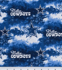 NFL Dallas Cowboys Fabric Logo 100% Cotton Brand New - Fat Eighth (9