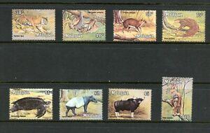 E260 Malaisie 1979 Faune Sauvage Animaux Tortues 8v. MNH