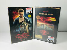 Stranger Things Season 1 & 2 Blu-Ray Target Exclusive VHS style boxed sets