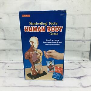 Lakeshore Fascinating Facts Human Body Game    Anatomy Model Organs Learn Quiz