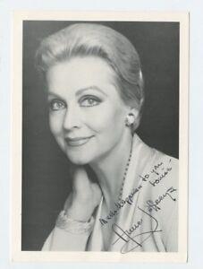 """5 X 7 Autographié Photo Télévision Actoress """" Décoration """" Anne Jeffreys"""