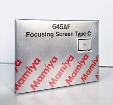 Mamiya 645af mate disco tipo C-nuevo-enfoque Screen Type C microsprim New