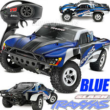 ~NEW~Traxxas Slash XL-5 2WD RTR w/TQ 2.4GHz Short Course Electric RC Truck Blue