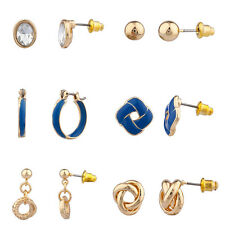 Lux Love Knot Nautical Earring Set (6Pc)