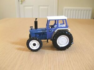 Vintage Britains farm Ford 7600 4-W/D tractor conversion