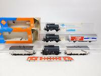 CM505-1# 6x Roco H0/DC Güterwagen: 4336A/4337 VTG DB etc, leichte Mängel/gut