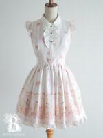 🌹LIZ LISA🌹Ice Cream One Piece Dress Ribbon Pink White Hime Lolita Japan F335