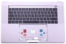 "Apple Macbook Pro Retina 15"" A1707 Topcase Tastatur Cover Gehäuse 2016 Grau"