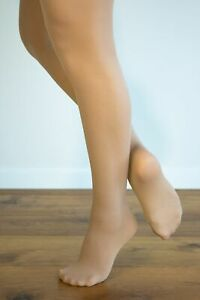 DANCE TIGHTS Tan (Skin Tone) Footed 10 PACK - BUY 10 PAIRS & SAVE!